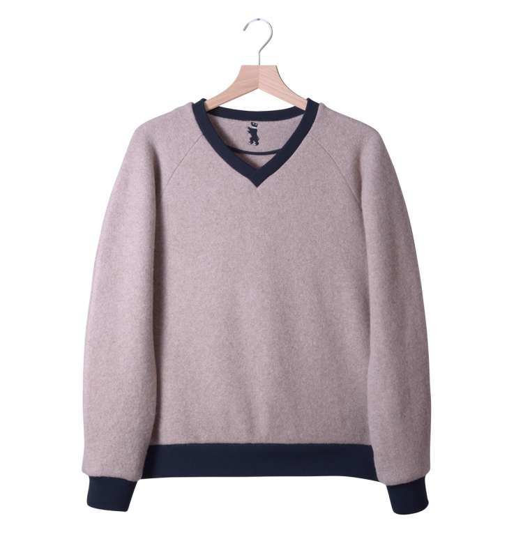 RAGLAN SWEATER - HASELNUSS - ALADICS OUTDOOR