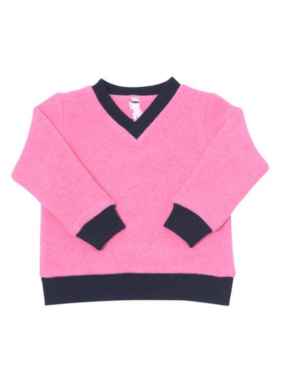 V-Neck Sweater Strickwalk – Pullover – Aladics Outdoor – Farbe: Rosa
