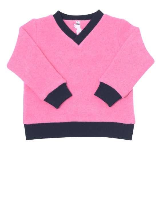 V-Neck Sweater Strickwalk Rosa